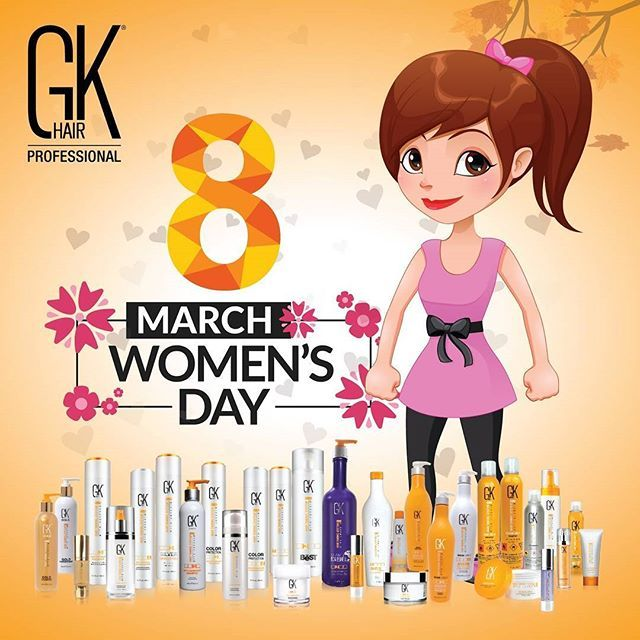 You've got everything to take the world in your stride.    Happy Women's Day    #GKhair #Juvexin  #Haircare #Healthyhair #BTC #ModernSalon #Beautysbest #Stylistchoice #HotonBeauty #HairColor #Hairinspo #womensday #whoruntheworldgirls