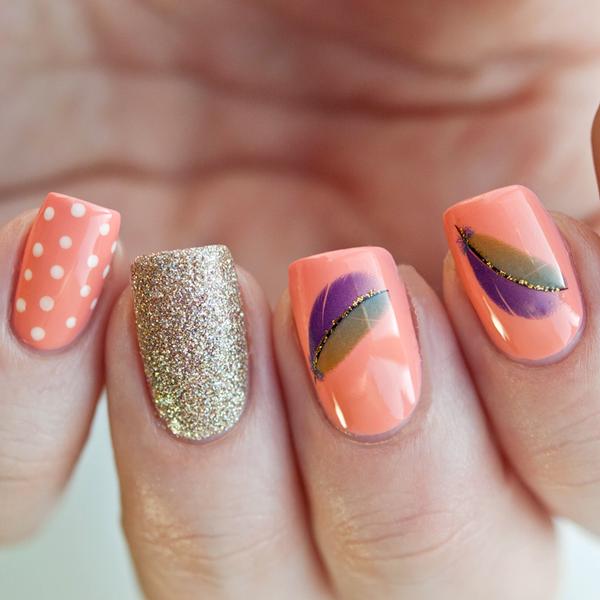 15 increíbles y fáciles diseños para tus uñas. ¡Los amarás! | Ongles ...