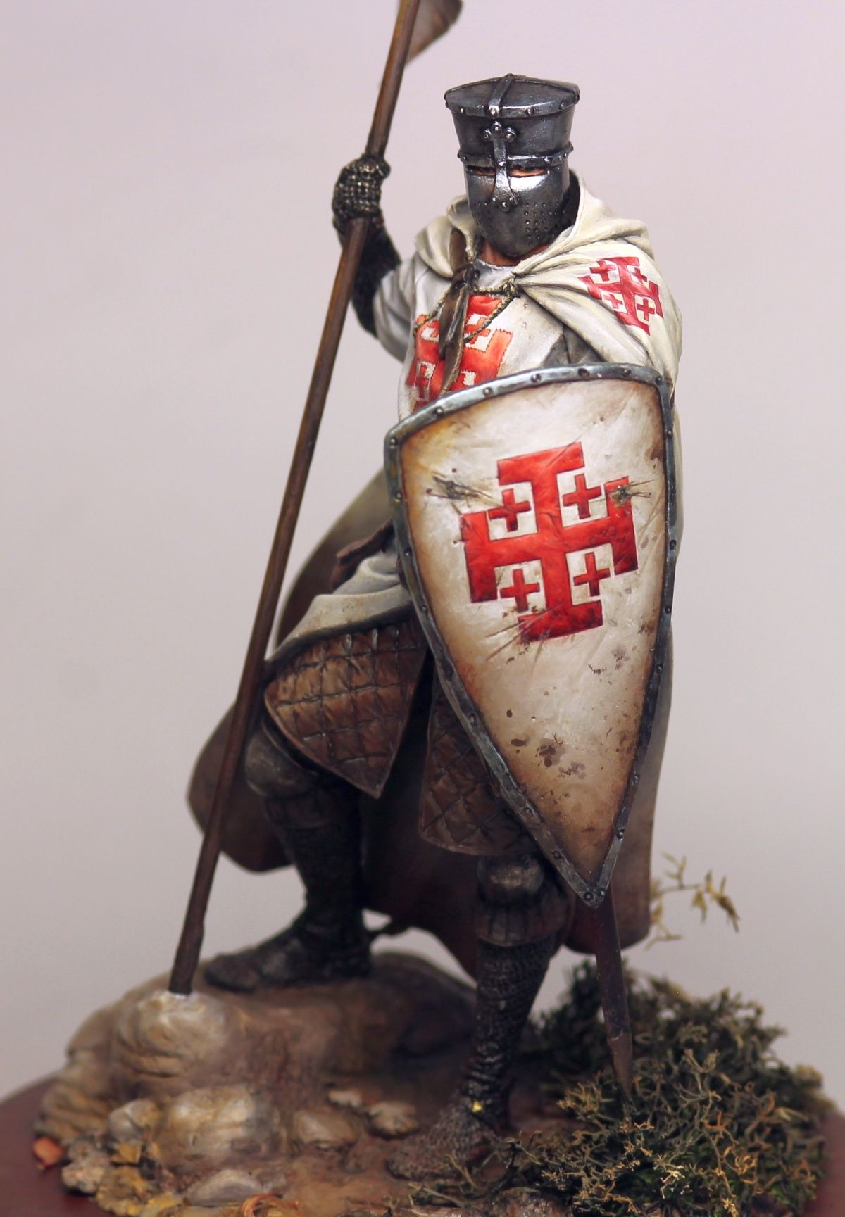 Knight of the Holy Sepulcher figure Armor Reenactment