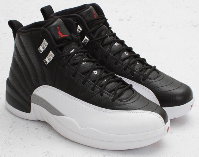 "Air Jordan 12 – ""Playoffs"" you could ware these with a tuxedo there so"