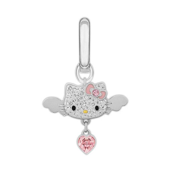 Swarovski Hello Kitty Angel Charm, Swarovski Hello Kitty Charm