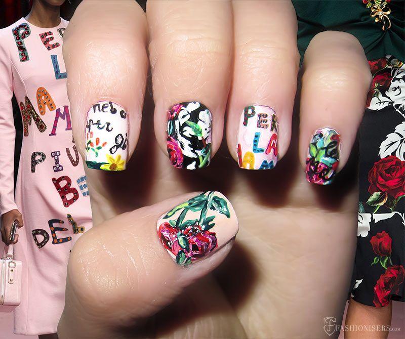Fall 2015 Runway Inspired Nail Art Designs   Beauty guide, Nail ...