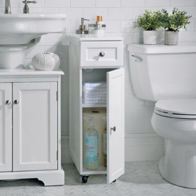 weatherby rolling bathroom storage cabinet bathroom pinterest rh pinterest com