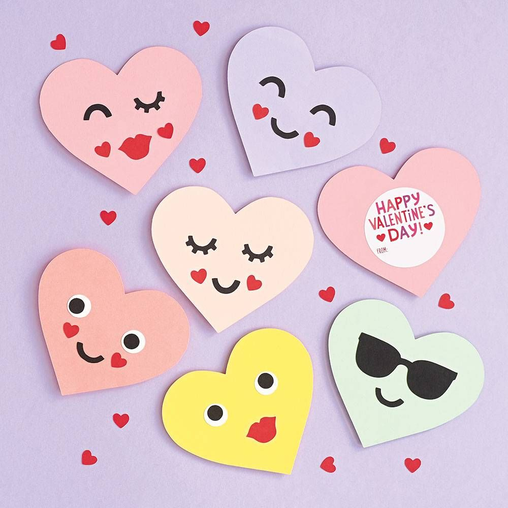 Cute Animals Valentine Card Making TOPPERS Handmade Stick On Decorations
