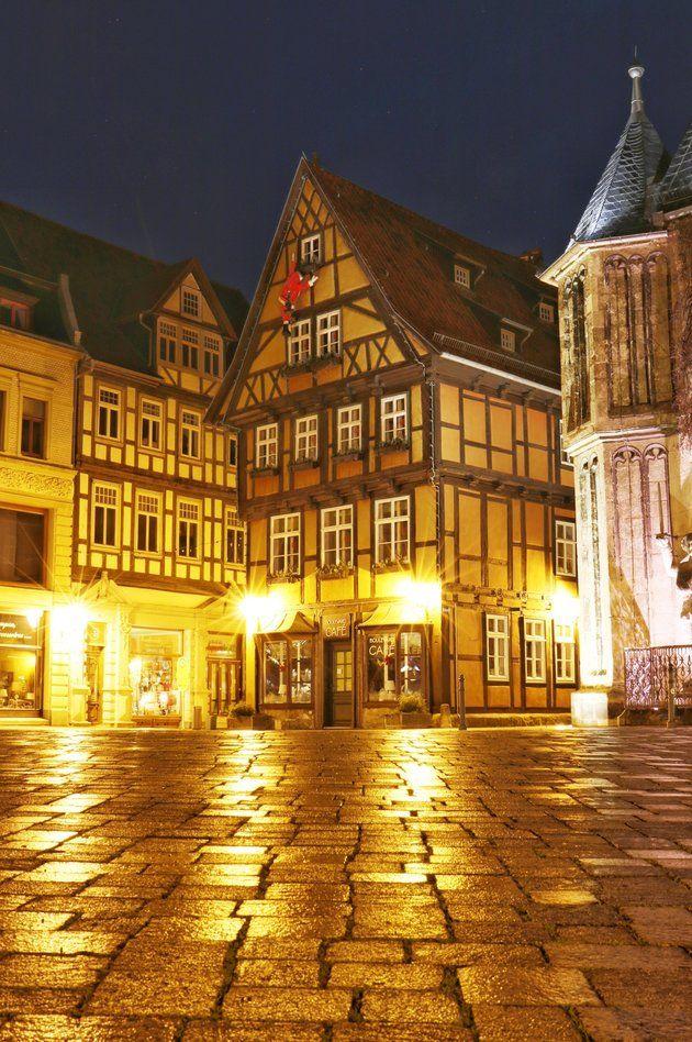 Photos at Marktplatz Quedlinburg, SaxonyAnhalt Saxony