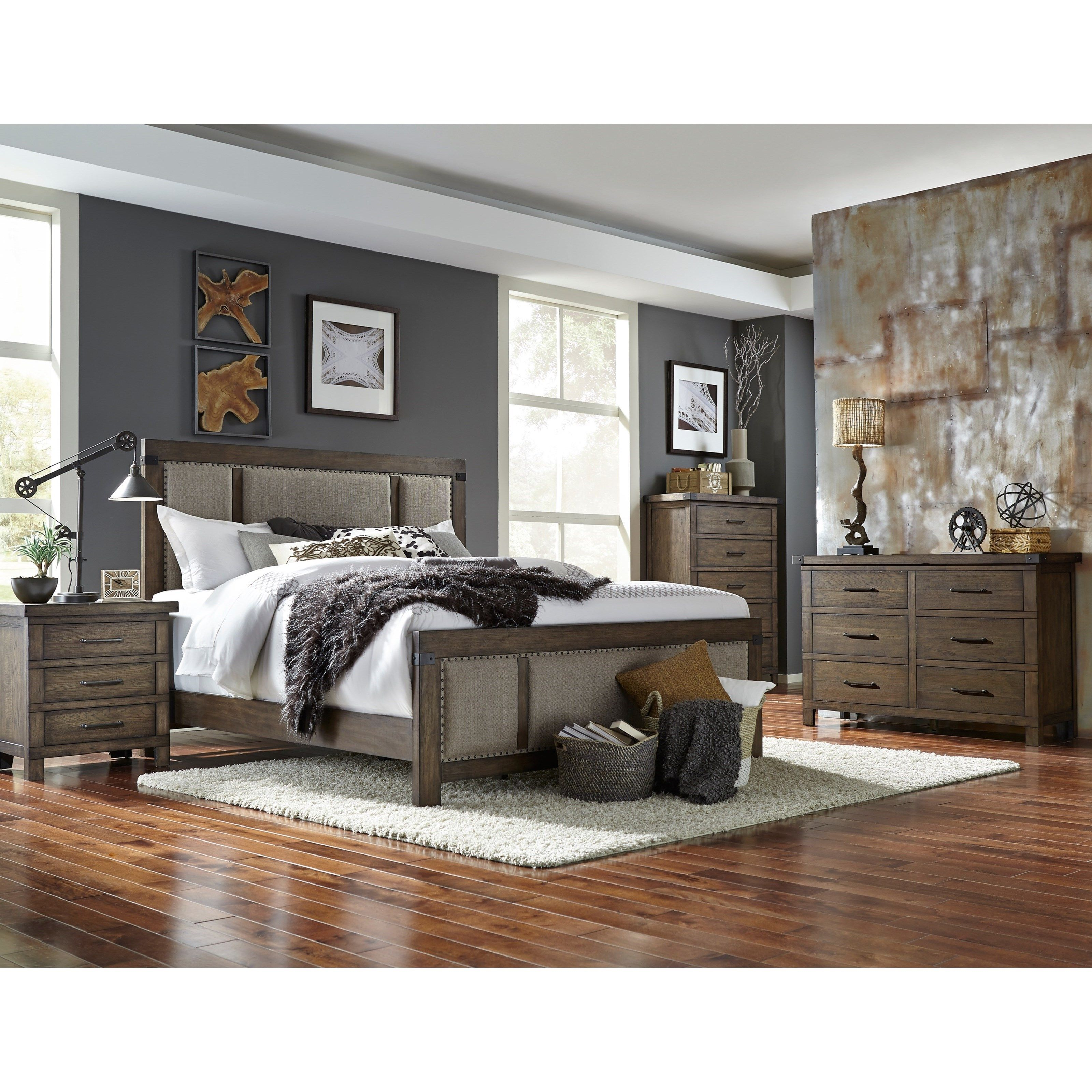 Larimer Square Queen Bedroom Group By Broyhill Furniture At Becker