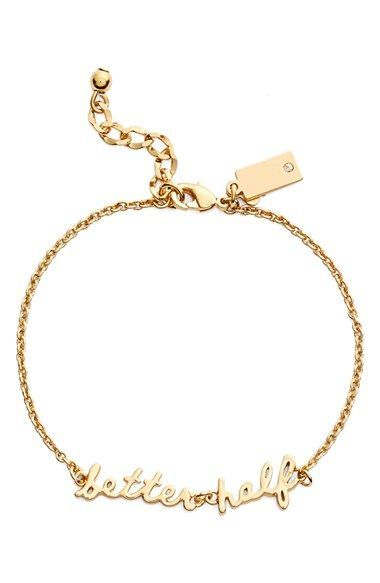063d5899a1 kate spade new york 'say yes - better half' charm bracelet available at  #Nordstrom