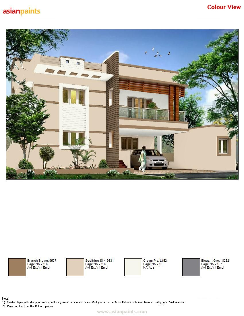 3rd Color Combination With Brown Combinations Exterior House Colors Combinations Color Combinations Home Wall Paint Colour Combination