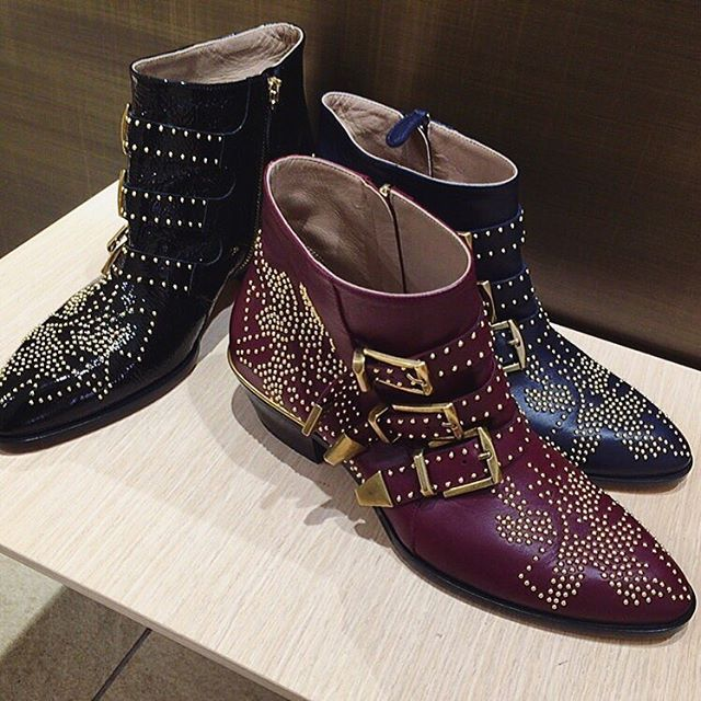 chloe susanna boots in burgundy susanna pinterest shoe game fall winter and shoe boot. Black Bedroom Furniture Sets. Home Design Ideas