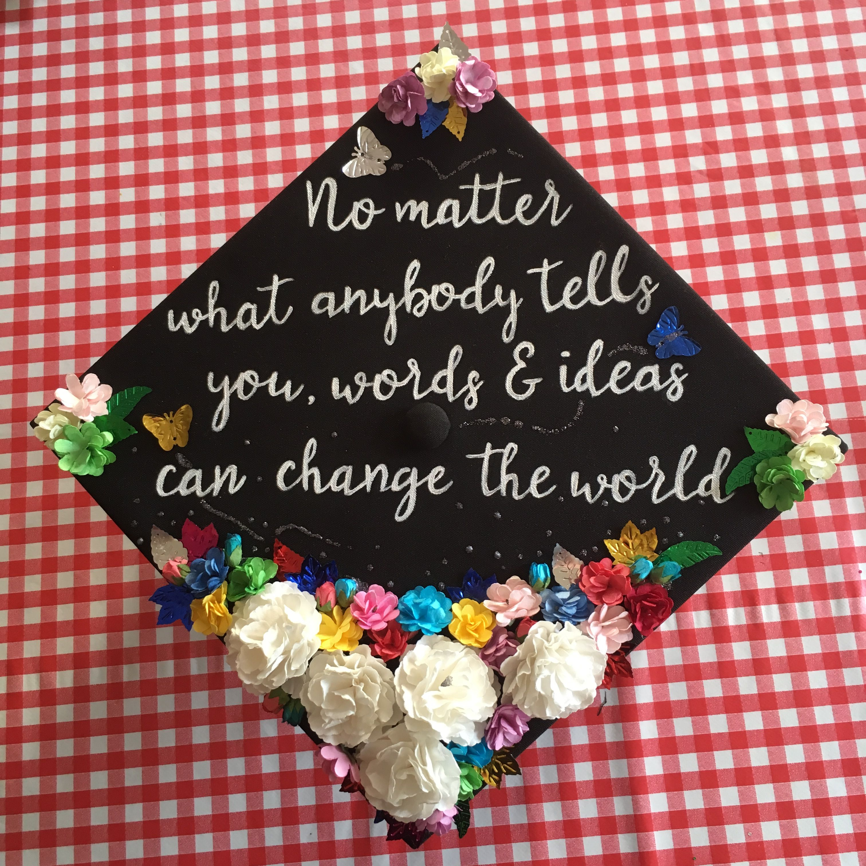 Graduation Cap 2017 Robin Williams Quote From Dead Poets Society