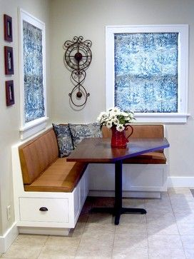 corner banquette and table traditional kitchen products denver todd a clippinger american craftsman