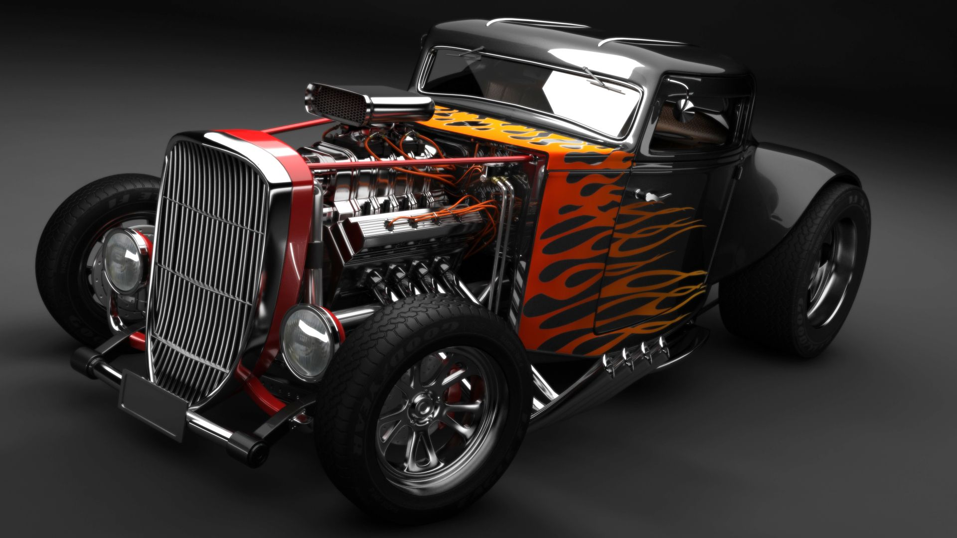 Old School Hot Rod | Hot cars, Car wallpapers and Cars