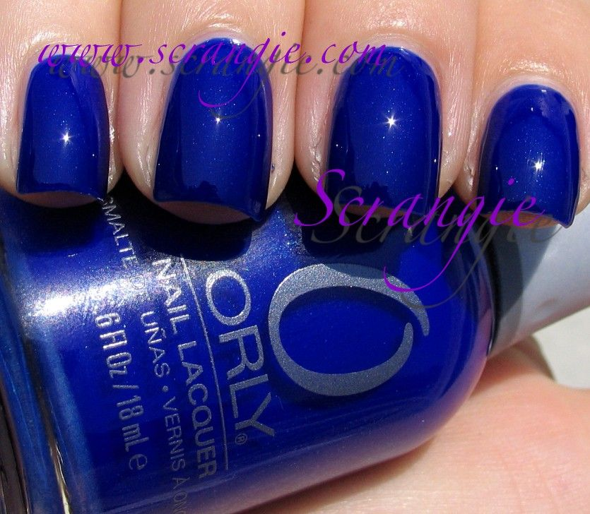 Orly: Royal Navy .. The best blue nail polish that I own and since ...
