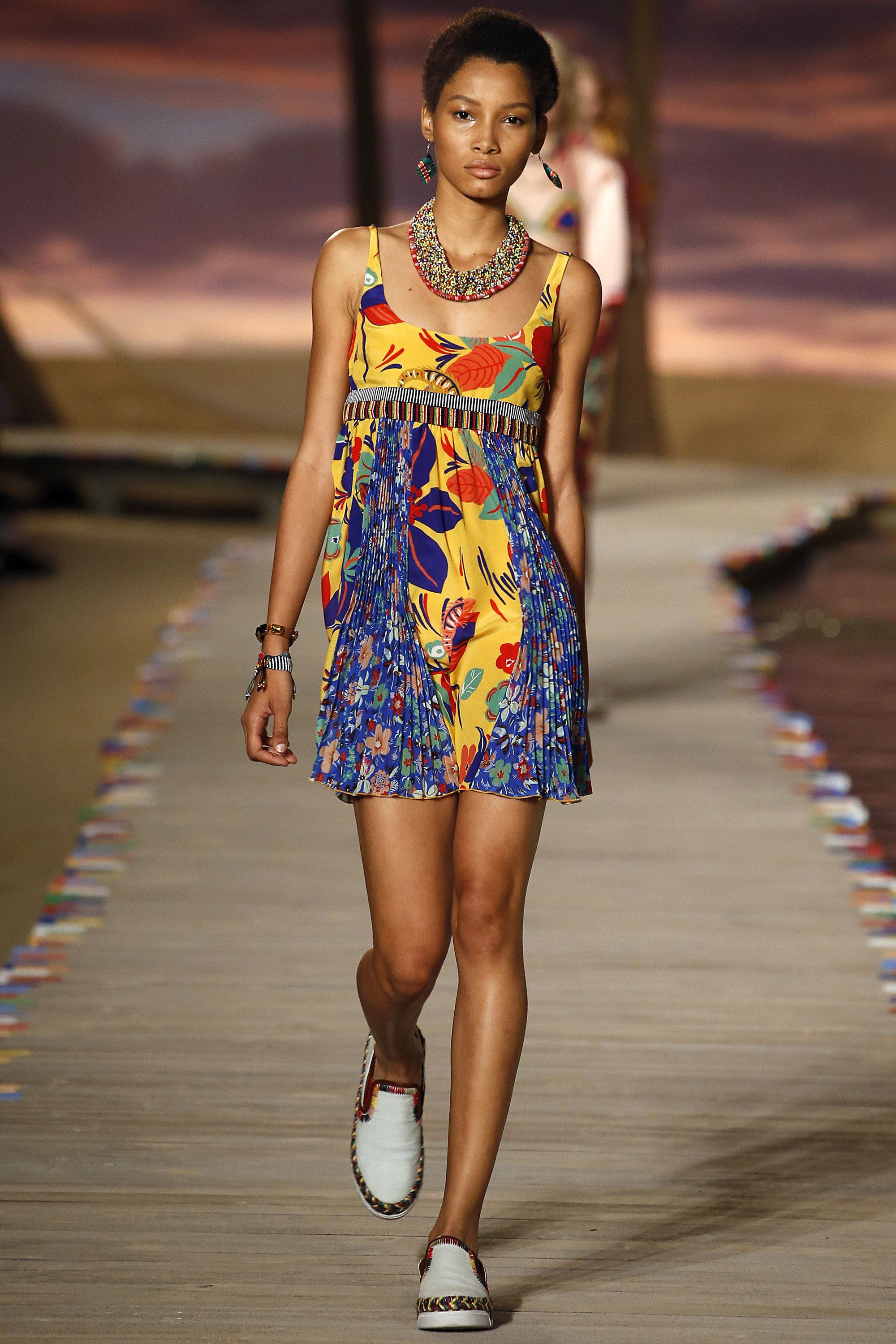 Tommy Hilfiger Spring 2016 Ready-to-Wear Fashion Show - Lineisy Montero  #TommyHilfiger