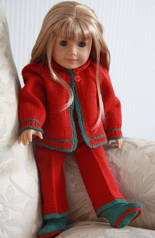 Free Doll Knitting Pattern Bonus1 2 3 4 And 6 Put Together In One