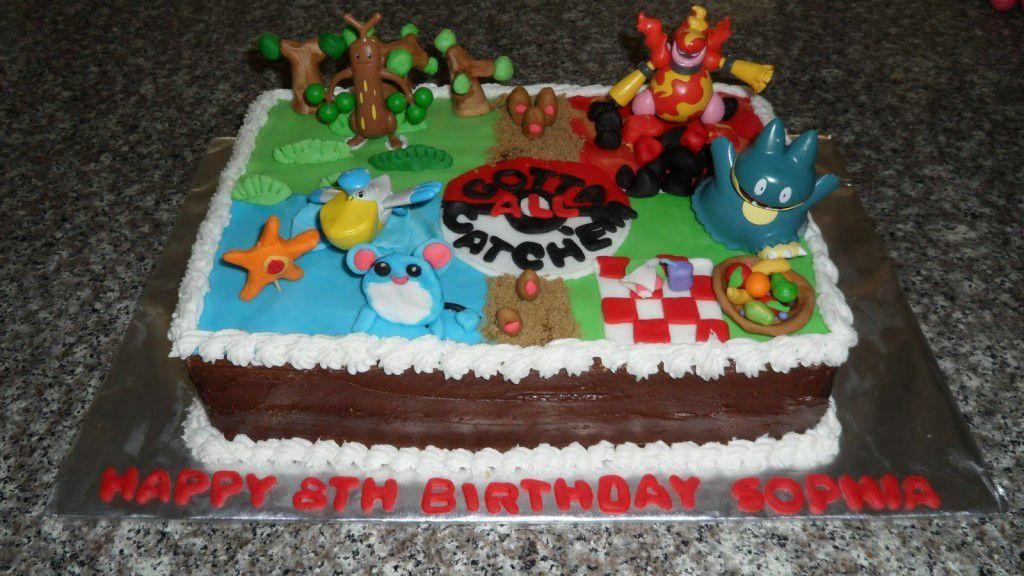 Pokemon Birthday Cakes Design