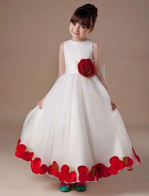 Vestidos De Fiesta Para Niña 25 Fabulosos Modelos De Moda
