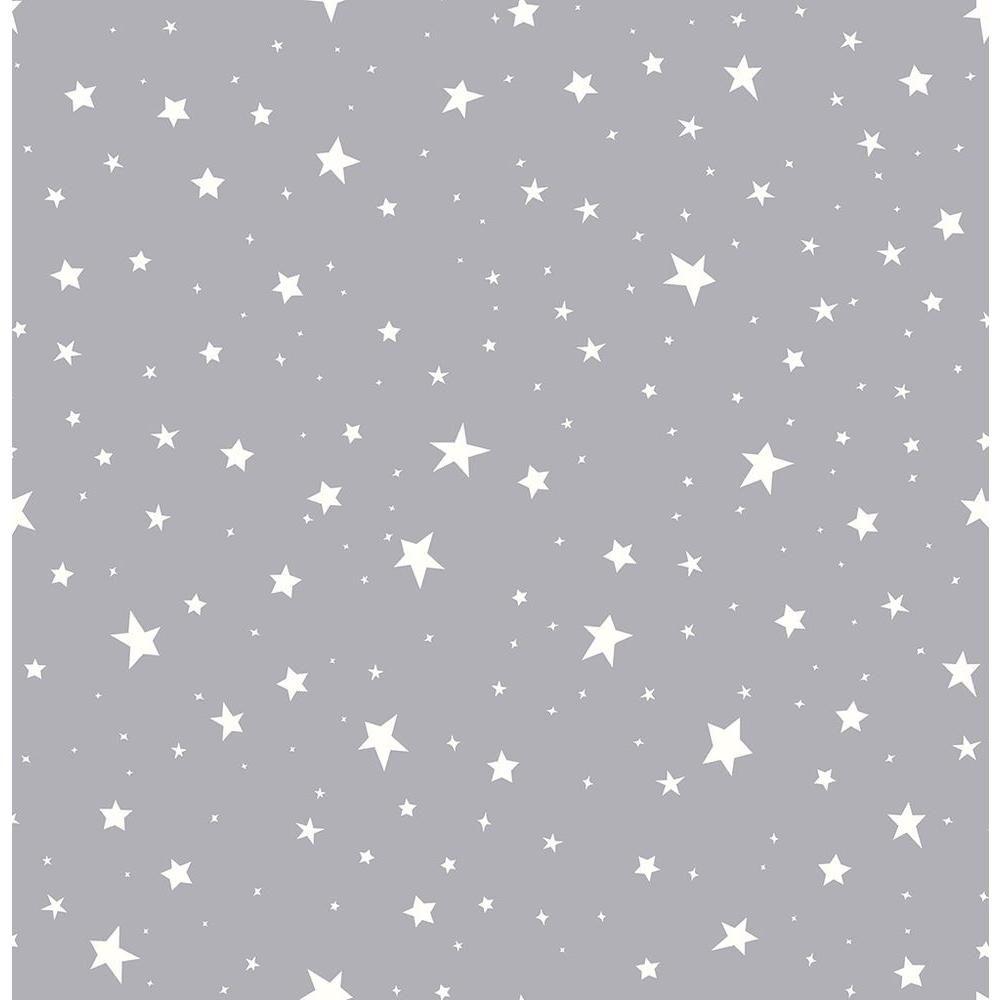 Brewster Grey Stars Wallpaper Sample In 2020 Star