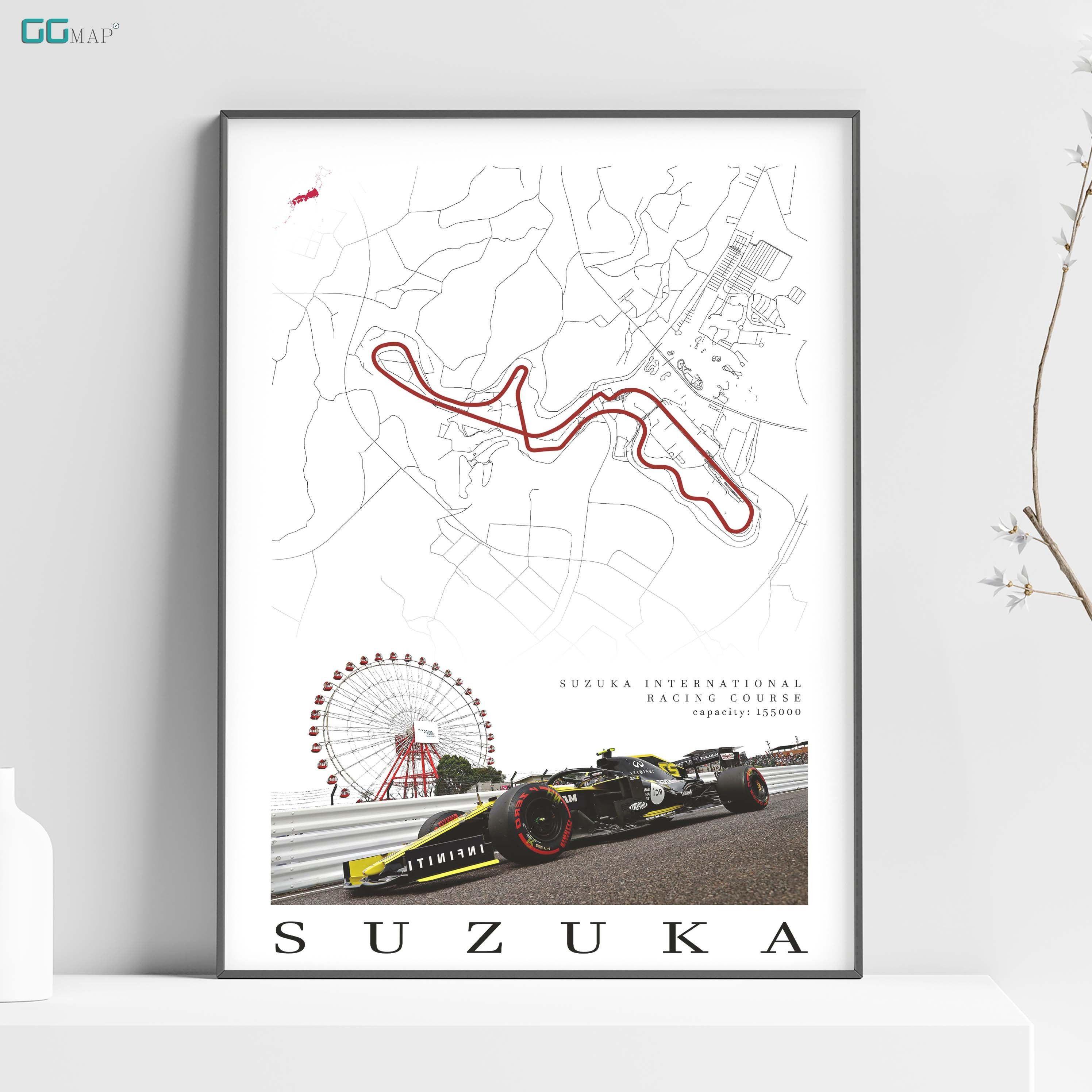 City Map Of Suzuka Suzuka International Racing Course Home