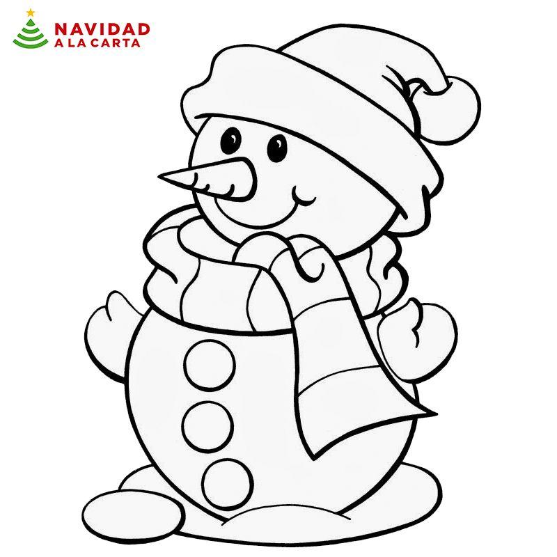 Estos 10 dibujos de Navidad para colorear harán pasar un buen rato