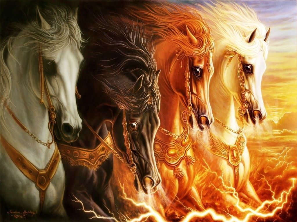 Horse Gods C S Lewis Xenophanes And John Piper S Blaspheme With Images Horsemen Of The Apocalypse Horses Horse Wallpaper