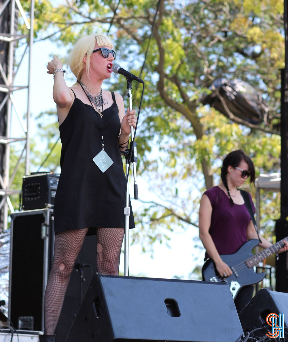 White Lung at Pitchfork Music Festival 2013