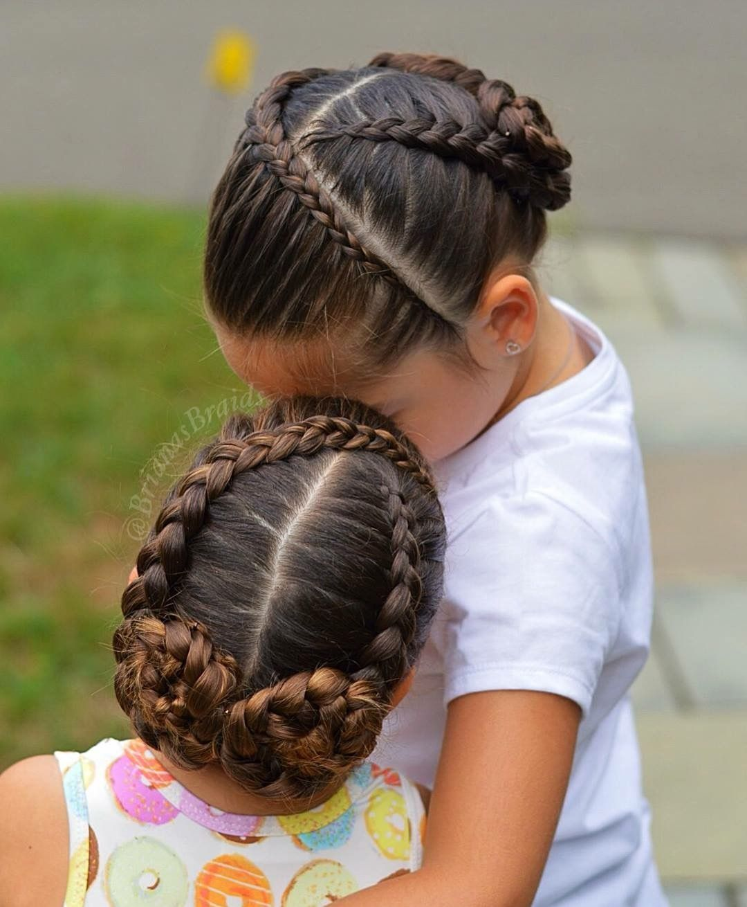 Cute Short Haircuts Easy Hairstyles For School Braided Hair Styles For Little Girls Braided Hairstyles Hair Styles Short Hair Haircuts