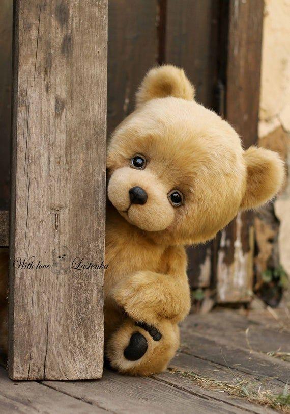 Teddy Bear September OOAK bear artist collectible
