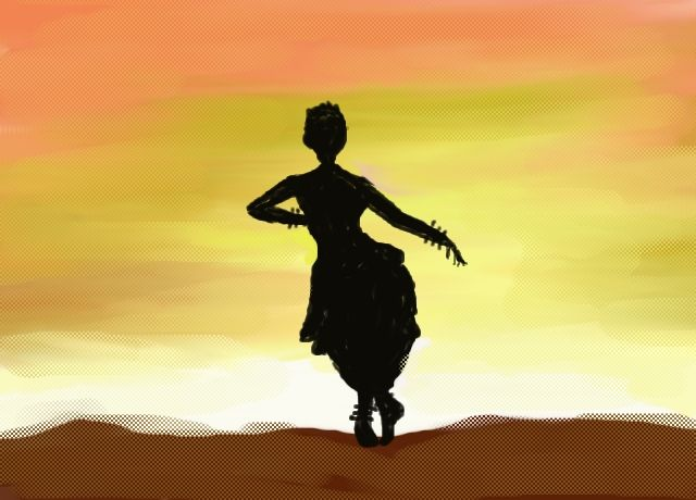 An Indian Classical Dance Pose By Gargy Poses Drawing Dance Paintings Dancing Drawings Dance Poster