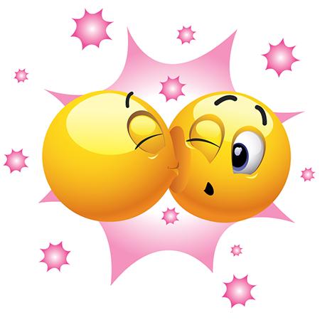 6eccef9e9f57ce8bf9b3b22bb0ae3200 kissing emoticons kiss, smileys and emojis