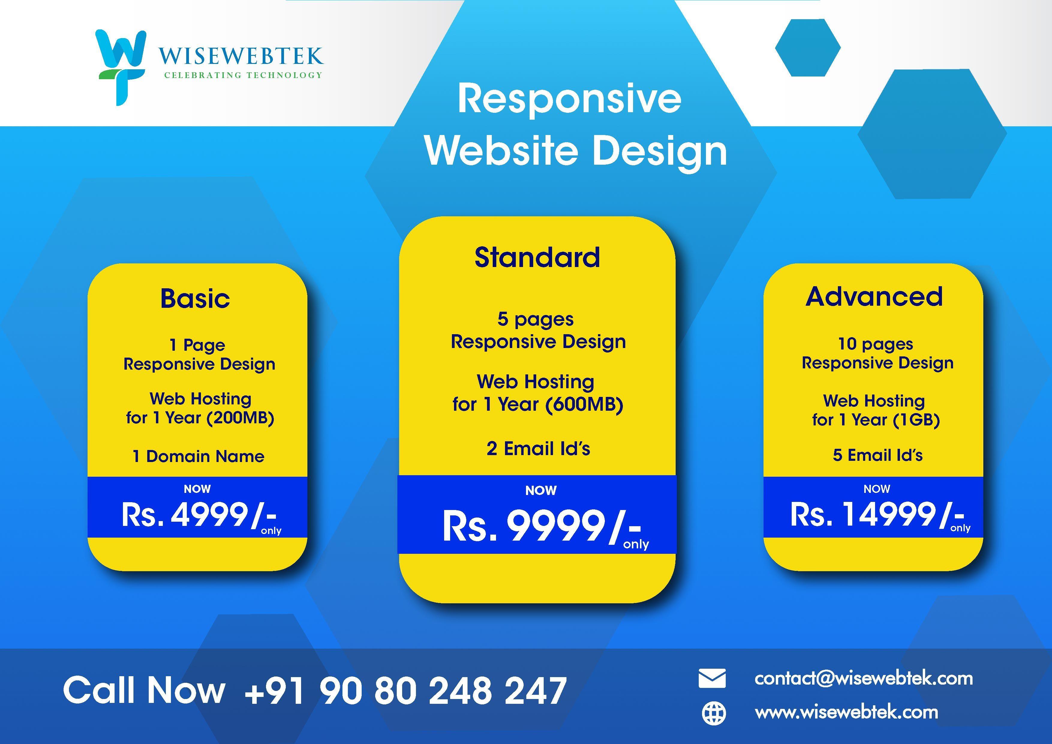 Responsive Web Design Web Design Web Design Packages Simple Web Design