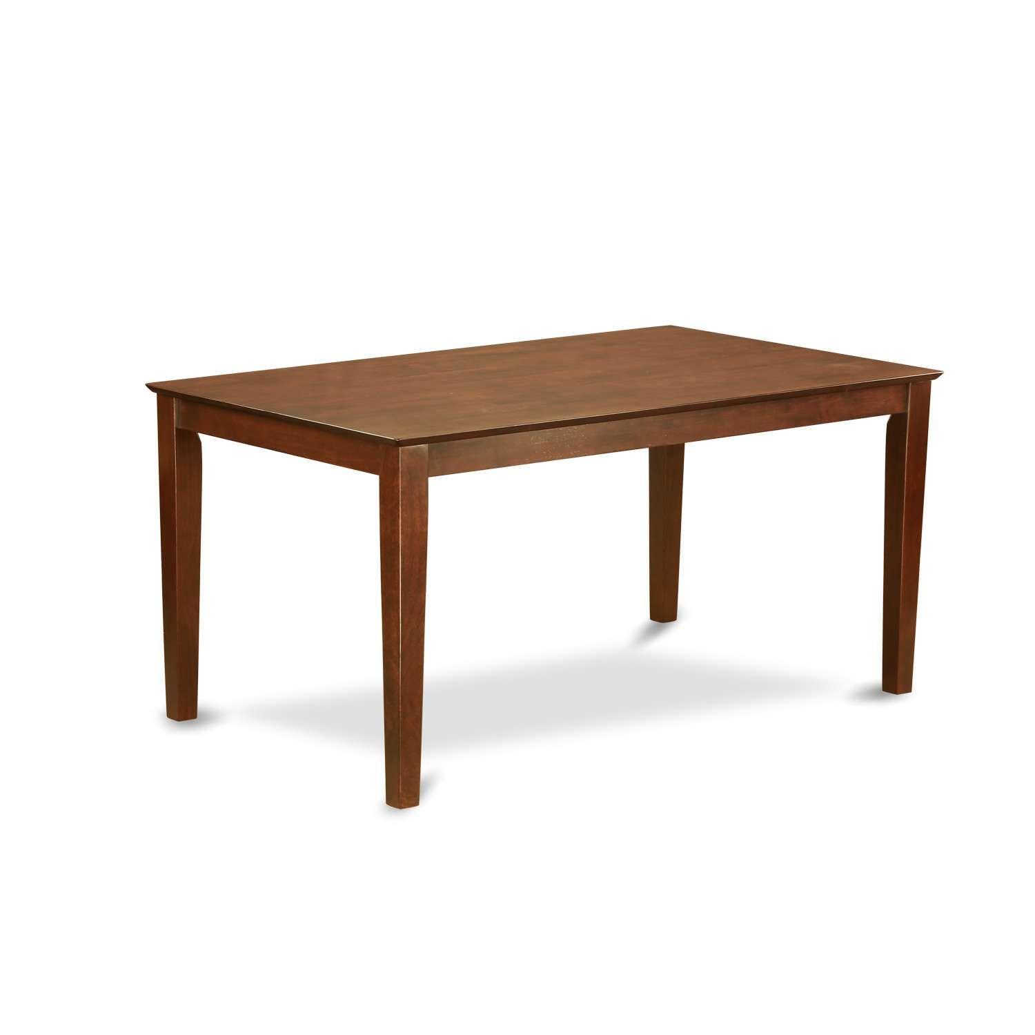 East West Furniture Capri Rectangular Dining Table 36 X60 With