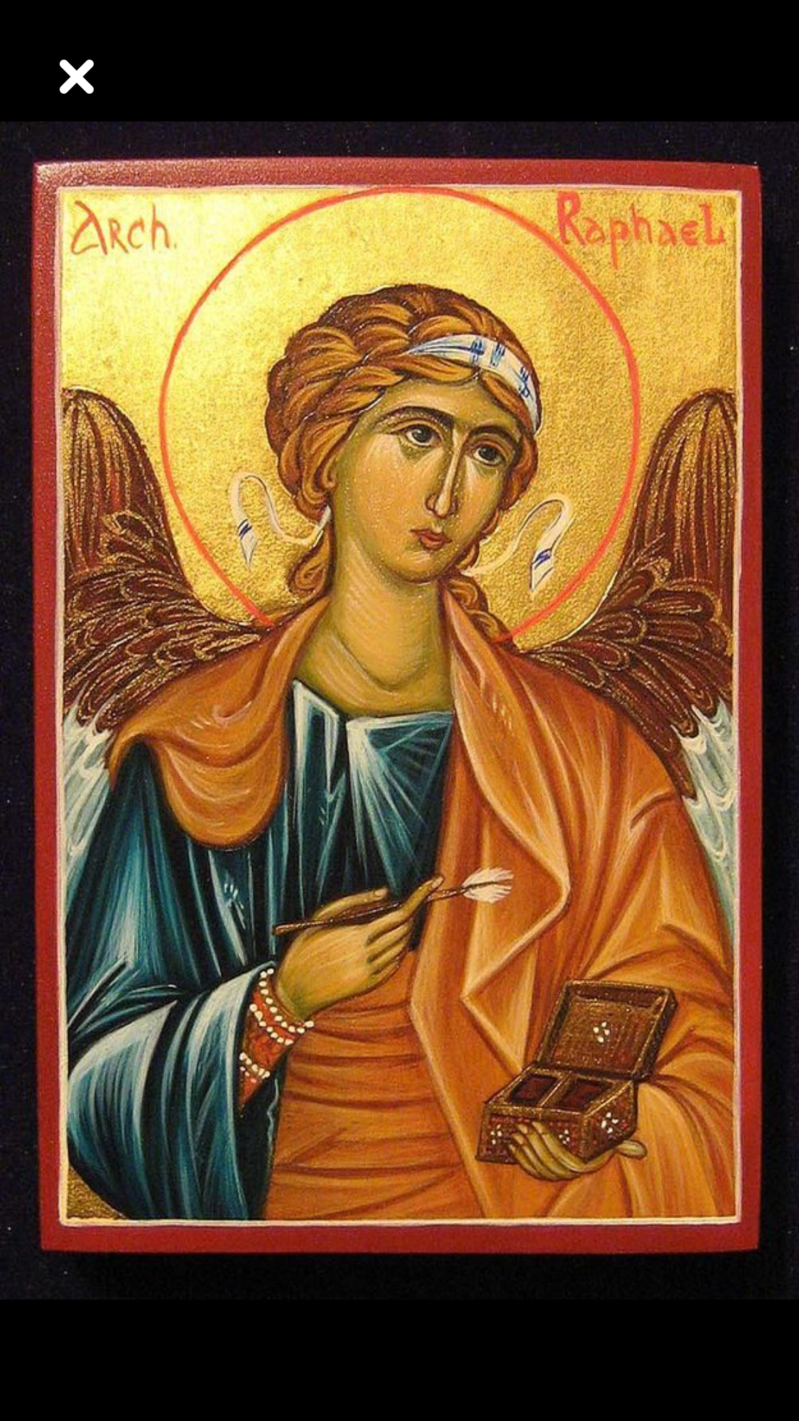 Archangel Raphael: the icon, in what helps, the prayer for healing 27