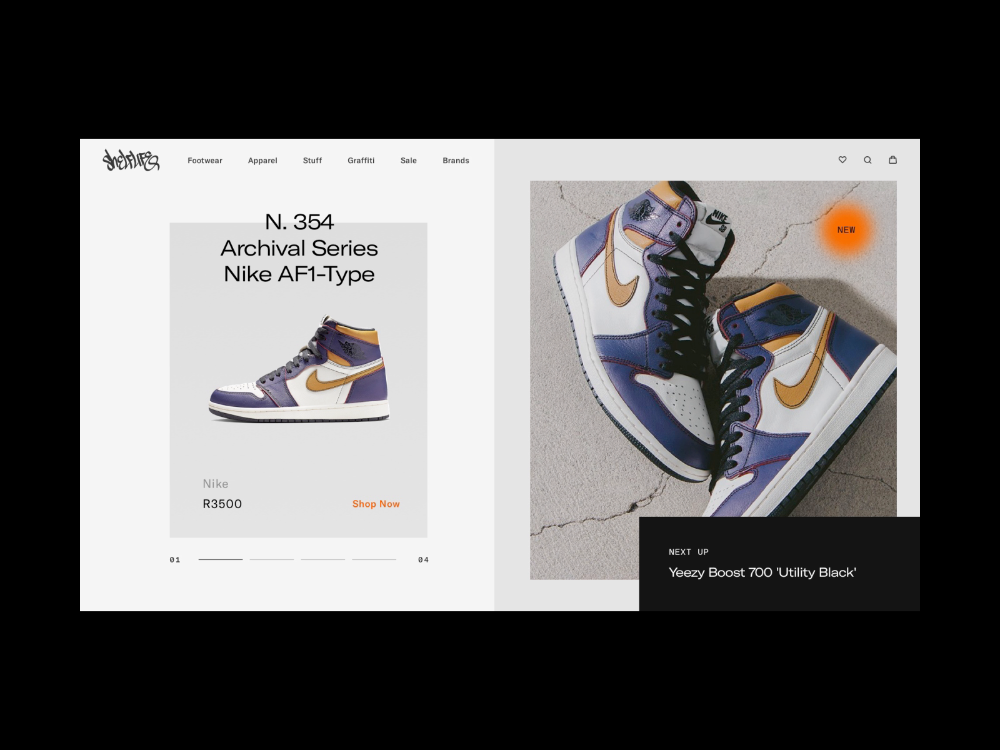 First Dribbble post! 👋 Shelflife is a