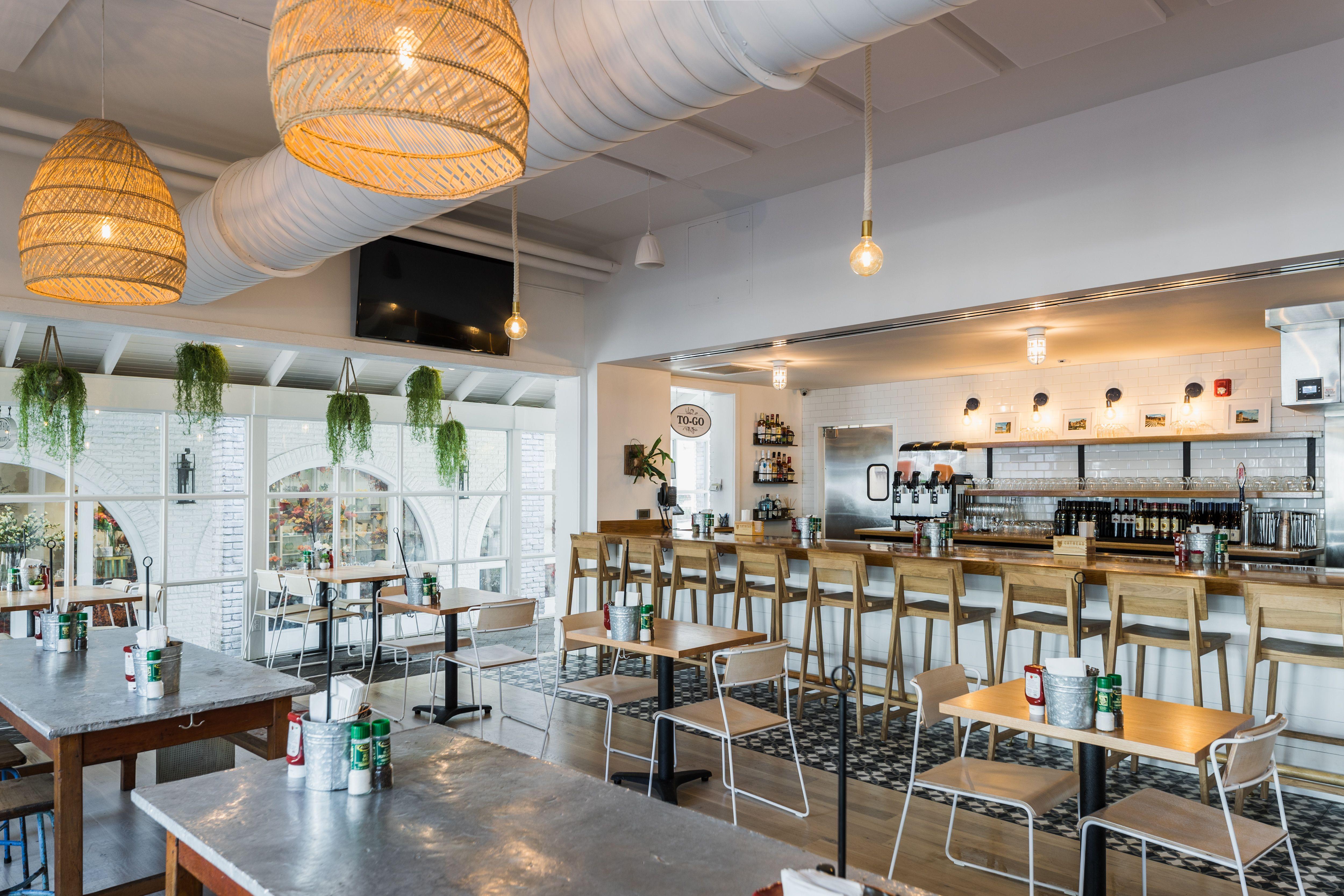 Mediterranean Restaurant Restaurant Interior Design Restaurant Interior Bar Lounge Decor