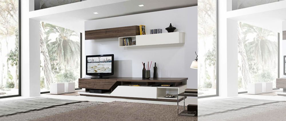 Modern tv unit google pinteres for Tv cabinet for small living room