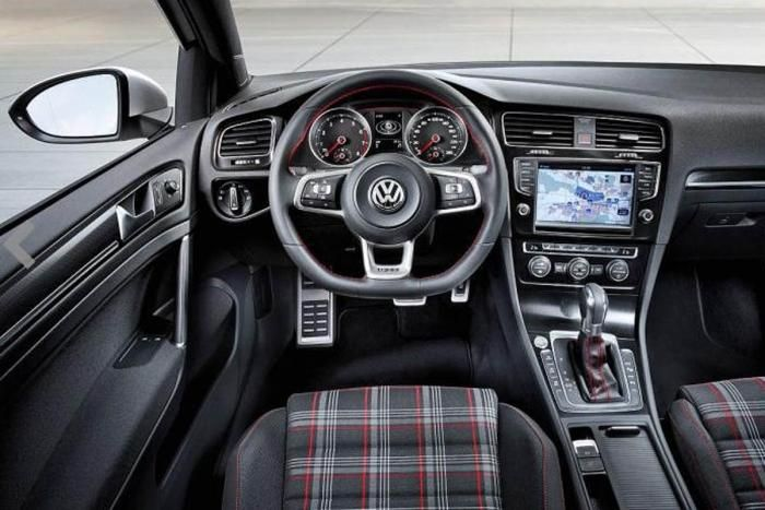 VW Golf GTI interior  VOLKSWAGEN  Pinterest  Volkswagen