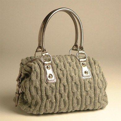 Выкройки и вязание сумок 825