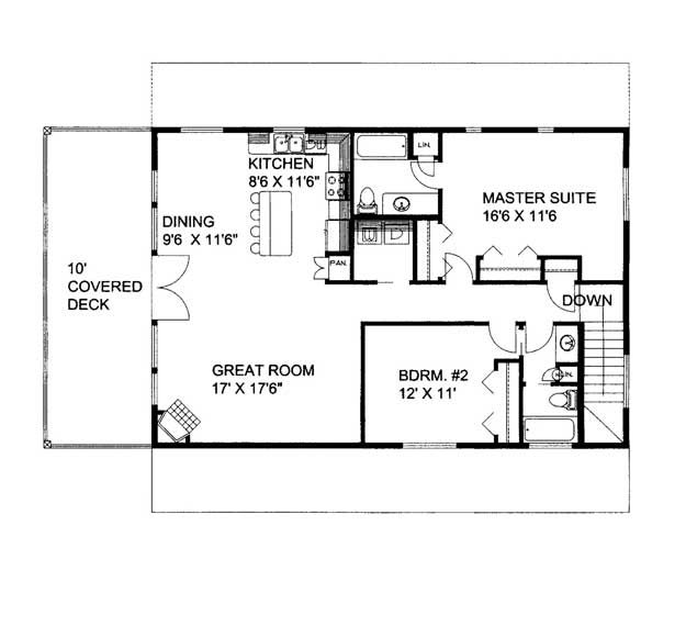 House plans home plans and floor plans from ultimate Free garage plans with apartment above