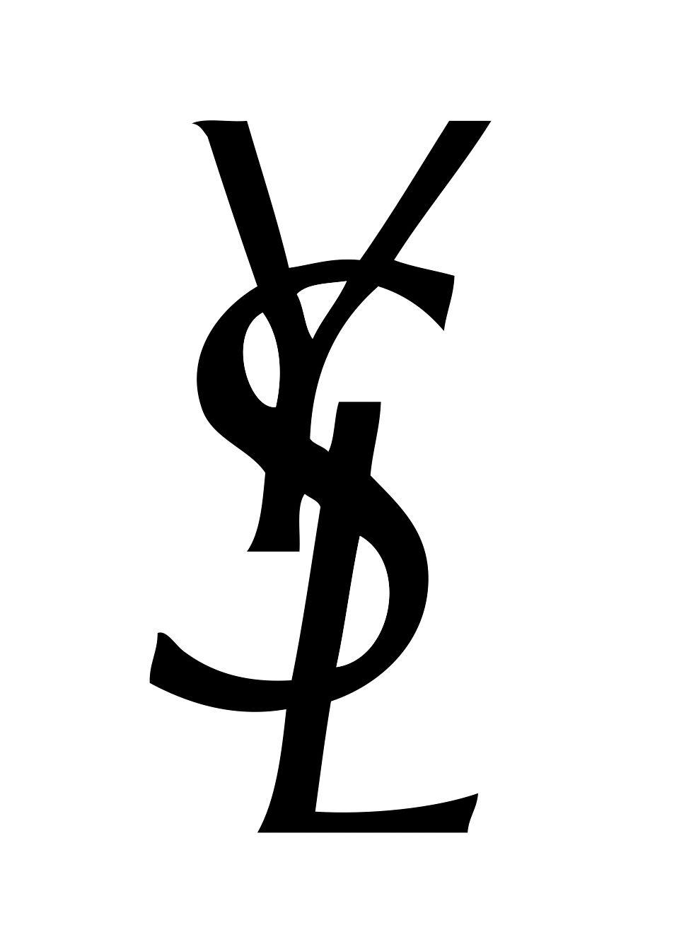 Pin by Anna Lukin on Logo YSL   Saint laurent paris, Logo ...
