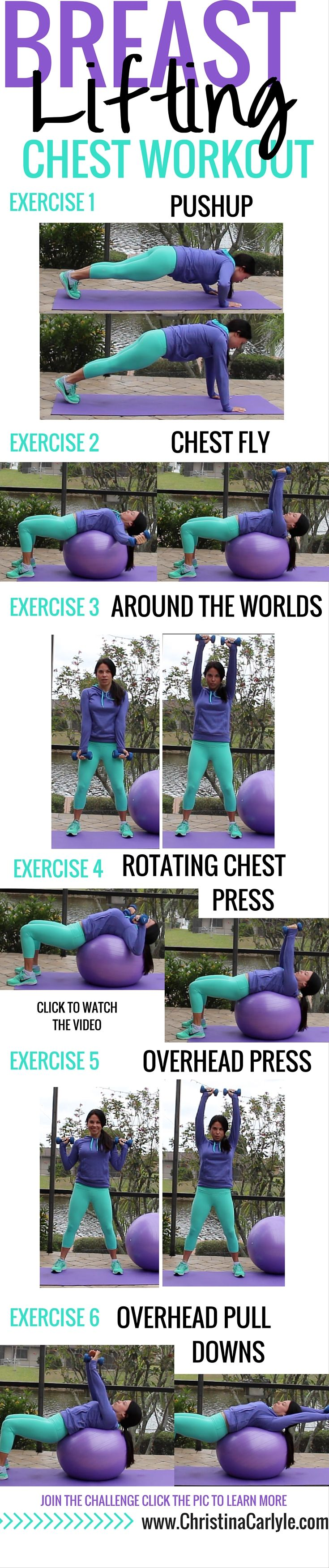 Chest Workout For Women  Home Workouts For Women  Chest -1647