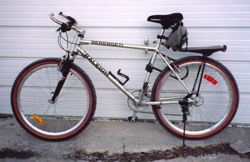 Raleigh Serengeti Mountain Bike Made In Canada Fully Importedwith