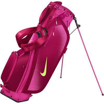 Hot Pink Nike Las Men S Sport Lite Carry Stand Fireberry Golf Bag At Lorisgolfpe