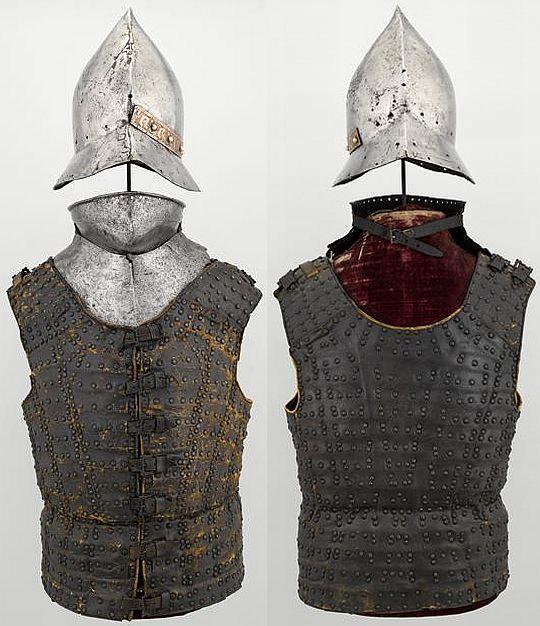 Brilhantina era um colete feito de pele. Ajustável ao corpo, era utilizado em batalhas.