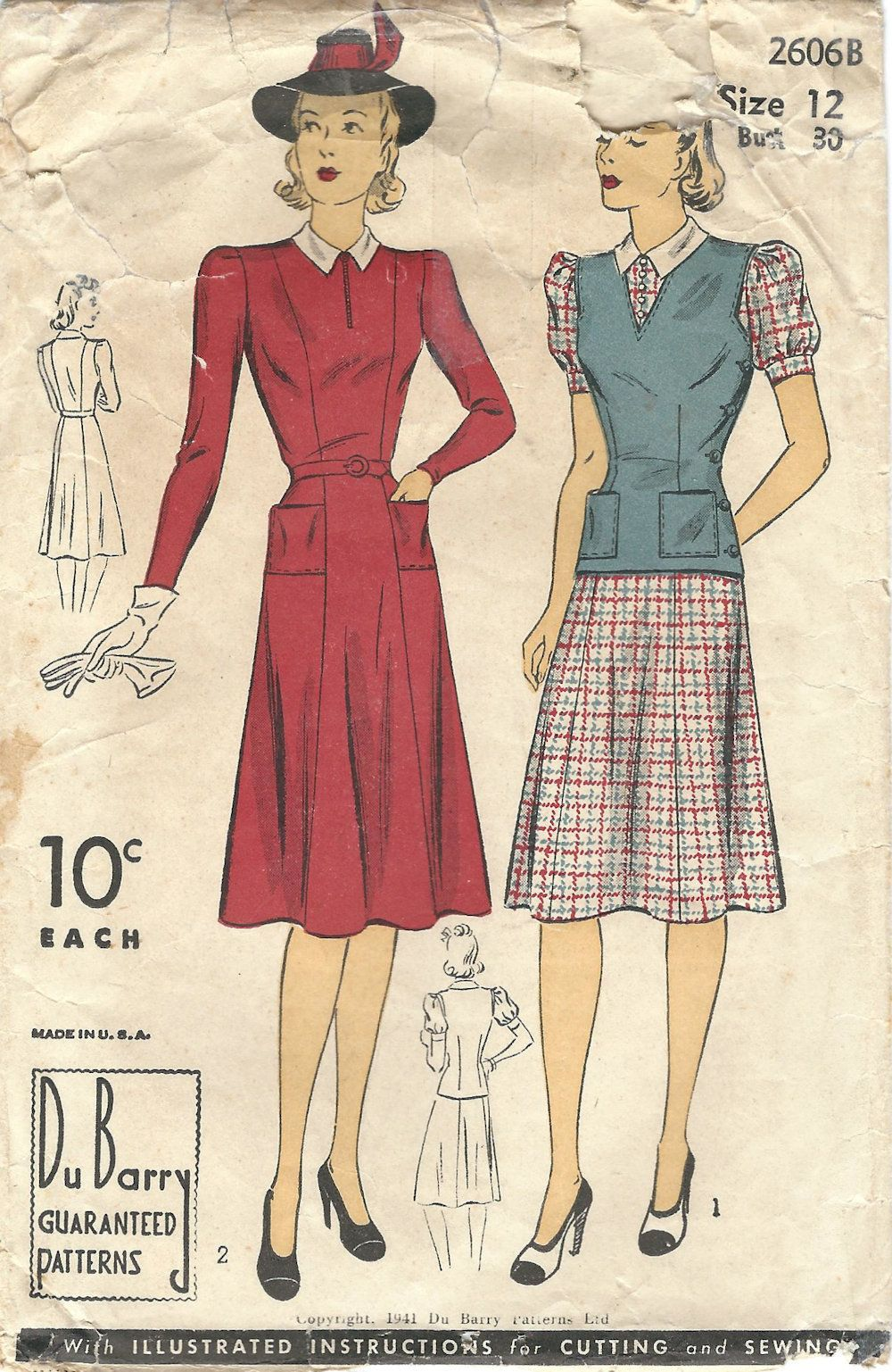Pin by midvale cottage on s vintage patterns pinterest