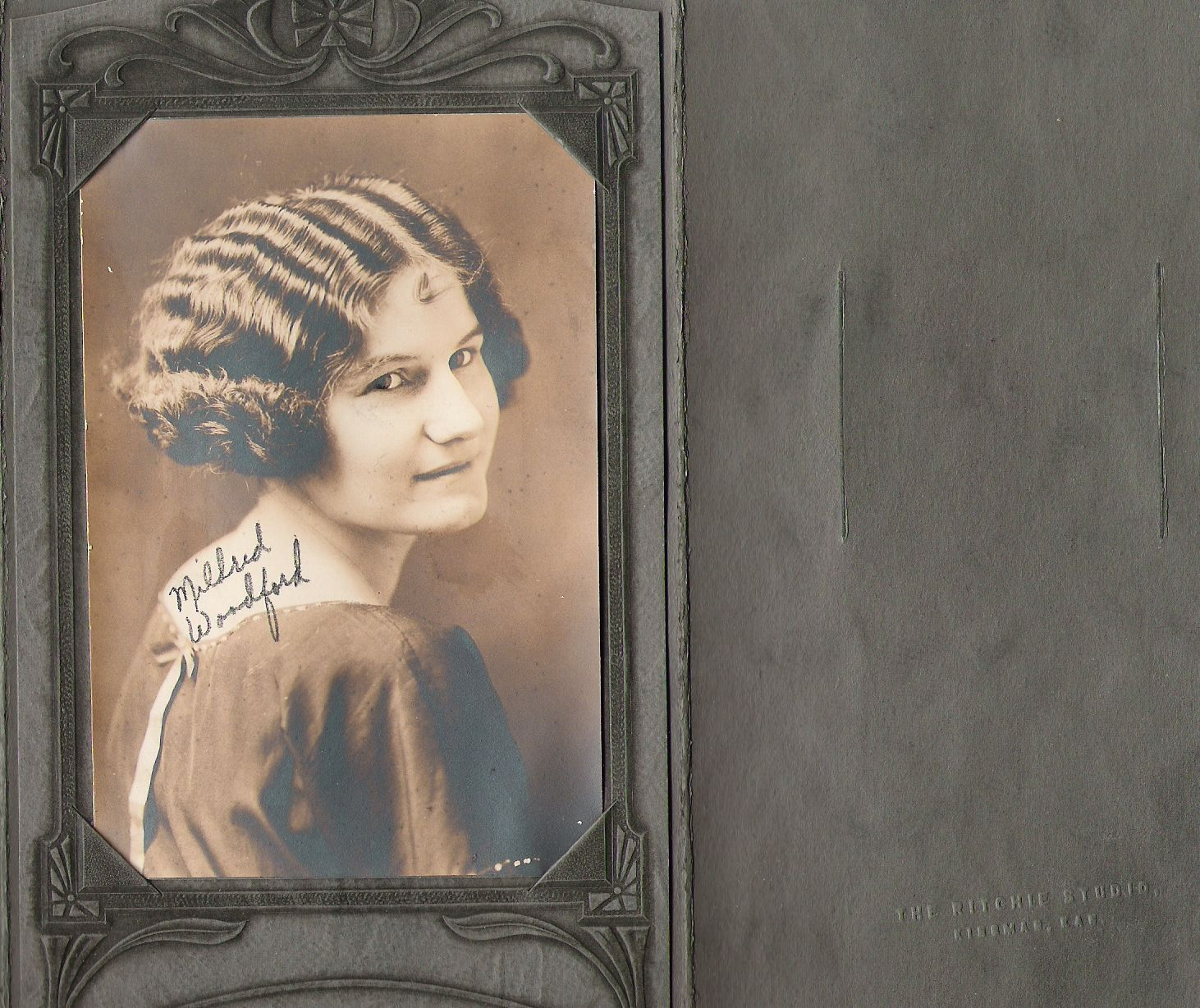 Mildred Woodford 1924 Kingman graduate