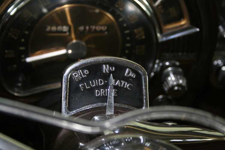 1949 Chrysler Dashboards Fluid Drive 1951 Chrysler Fluid