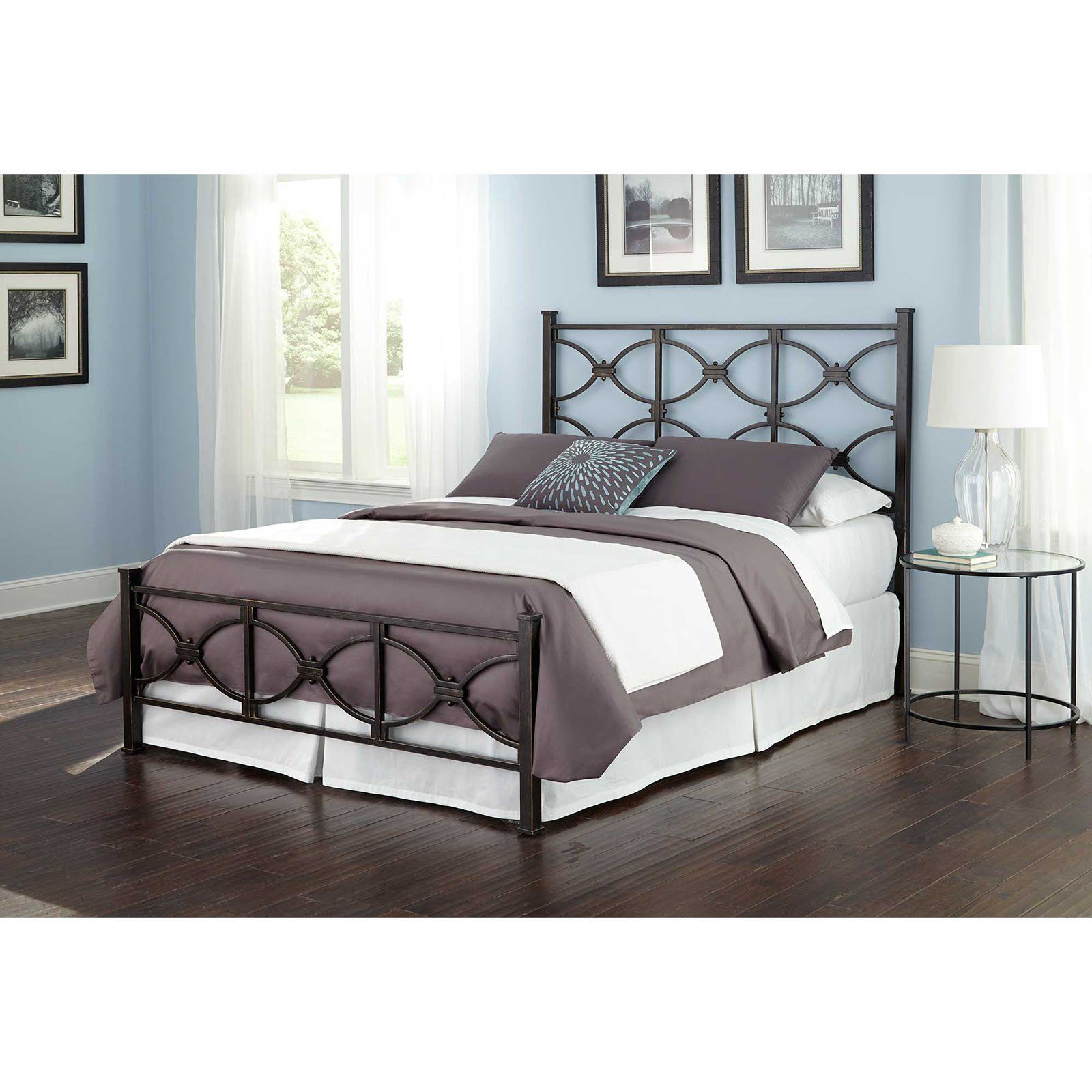 Fashion Bed Group Marlo Metal Bed | from hayneedle.com | New house ...