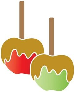 Candy Apples Clipart Image Caramel Apples Caramel Apples Apple Jelly Homemade Jelly