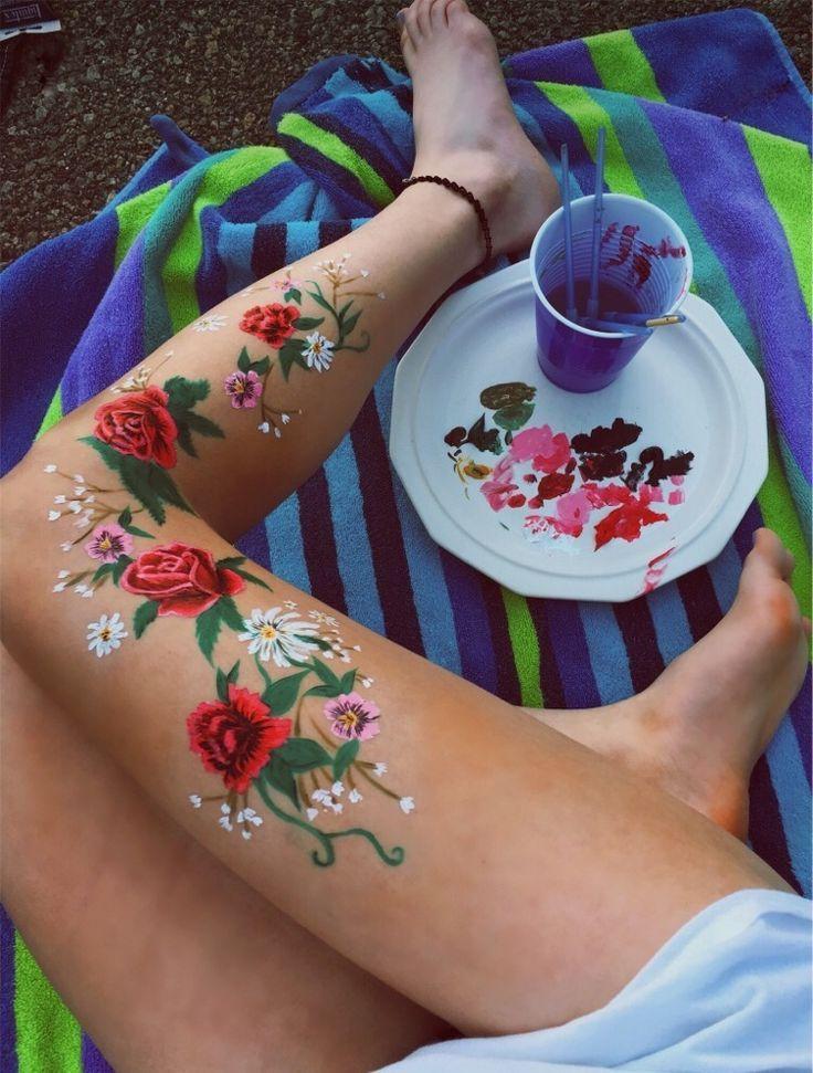 body-painting